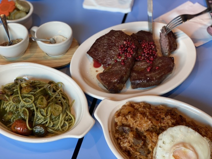 홍대 가성비 스테이크집, 스테이크슈퍼 steak super
