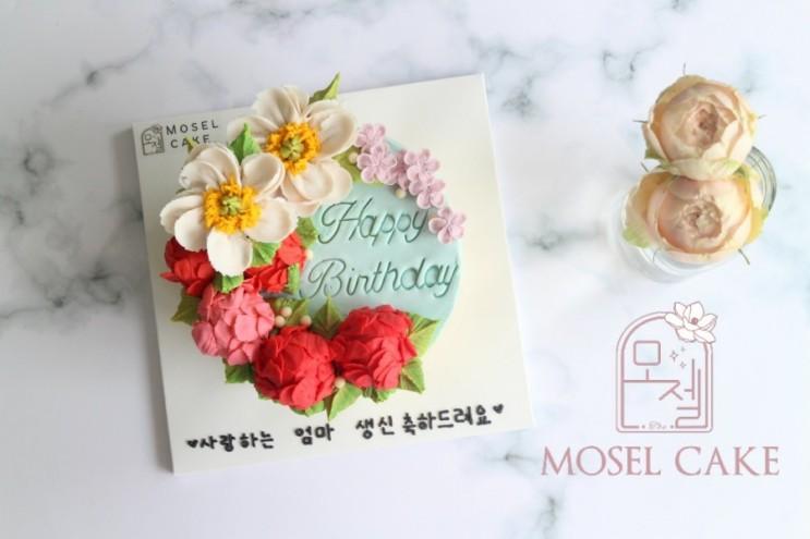심곡동떡케이크, New작약초승달디자인♡