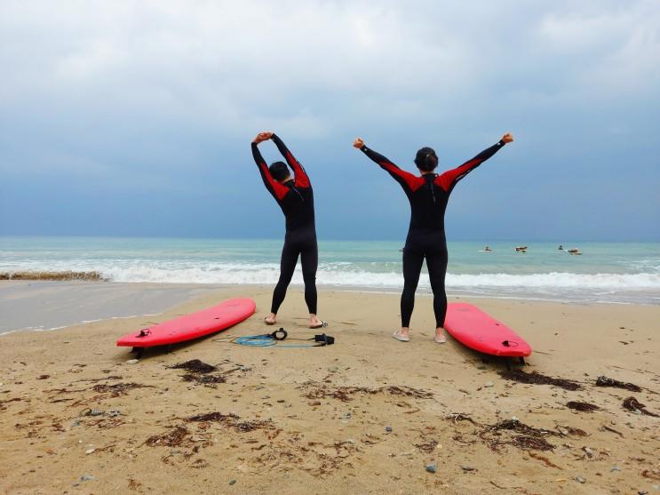 국내 서핑 여행! 포항에 2박3일로 서핑여행을 다녀왔습니다 2편!
