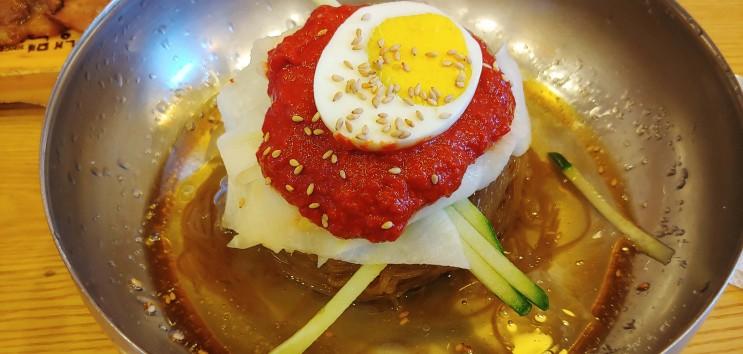 서울 명동 맛집 :: 육쌈냉면 명동 2호점, 을지로입구역 5번 출구