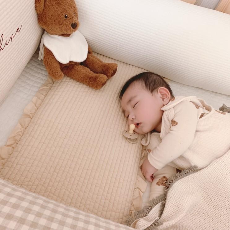 7개월 아기, 분리수면 시작 / 아기방꾸미기 (레이디가구 데이베드+퀵슬립 Q1 매트리스)