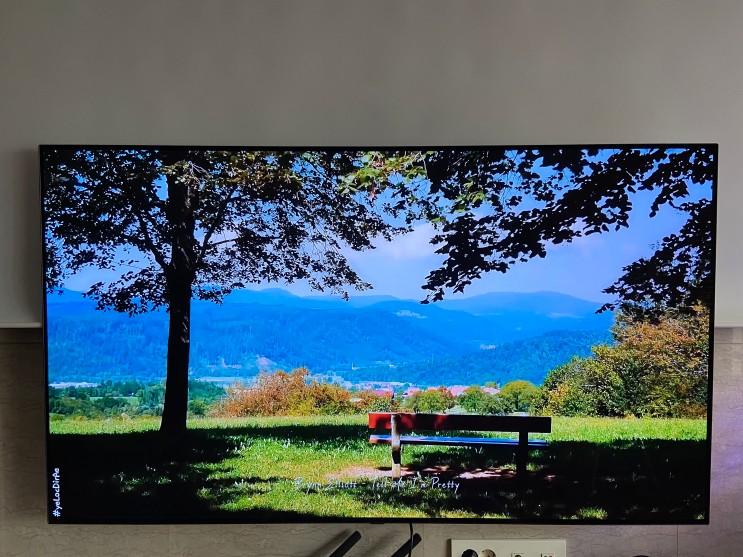 [127일차] 새 TV가 왔어요!
