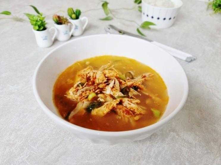 차승원 닭곰탕과 다대기로 닭곰탕 두 가지 맛 다 잡아요.