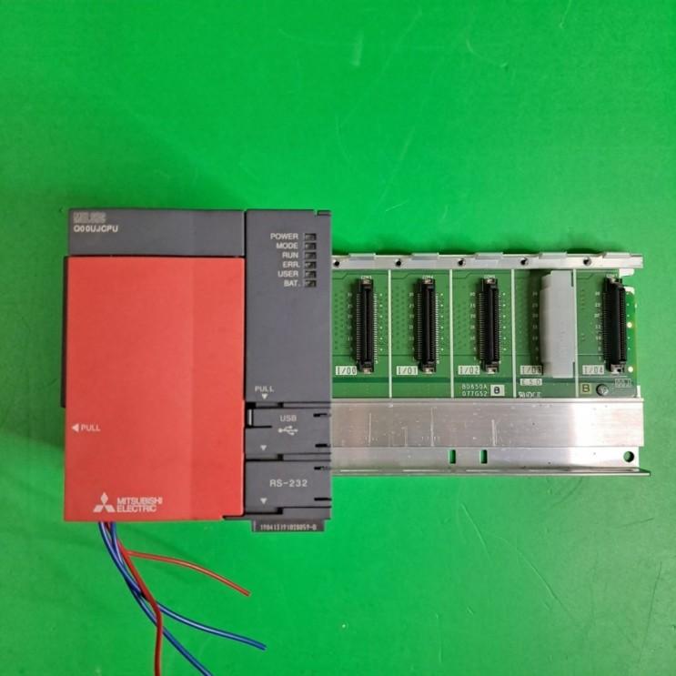 미쓰비시 MELSEC-Q PLC  Q00UJCPU(중고)