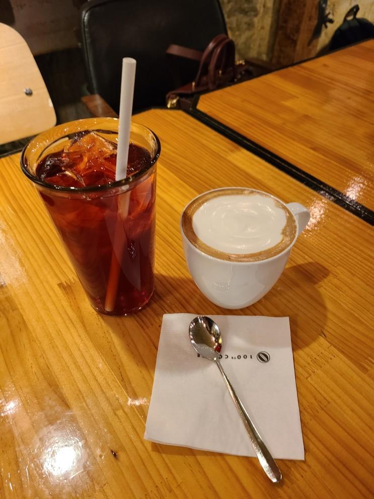 [홍대 카페 추천] 백년 커피 커피맛 좋은 커피 전문점 ☕