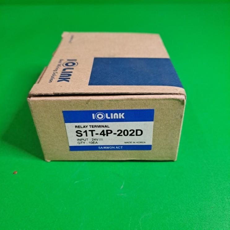 SAMWON ACT 삼원액트 무접점 릴레이 터미널 IOLINK S1T-4P-202D 신품 10EA 일괄 BOX (새제품)