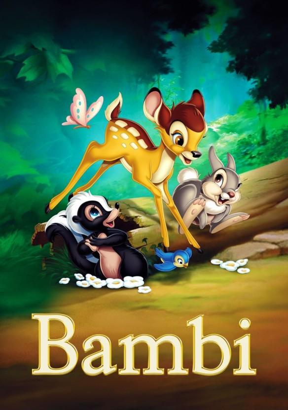 디즈니 애니│아기사슴 밤비 Bambi (1942) /밤비 2 Bambi Ⅱ (2006)