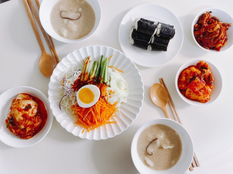 """분당 """"미가"""" 쫄면, 들깨수제비, 충무김밥 택배로 받아 간편식으로 즐기기"""