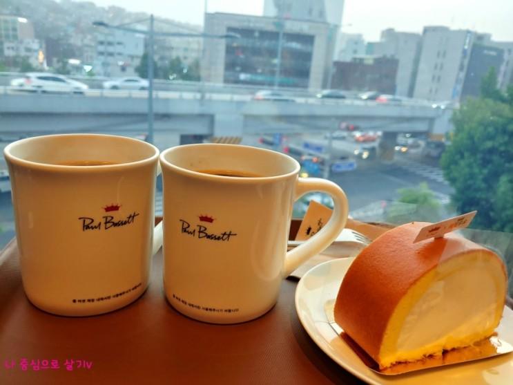 루프탑 카페 - 폴바셋 한남커피스테이션 (신한 탑스클럽 할인받기v)