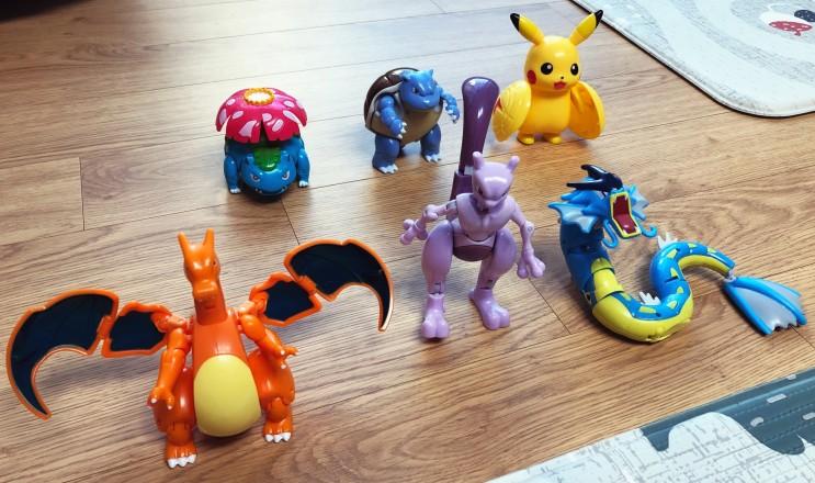 포켓몬 몬스터볼 변신 피규어 장난감 퀄리티가 좋네요.
