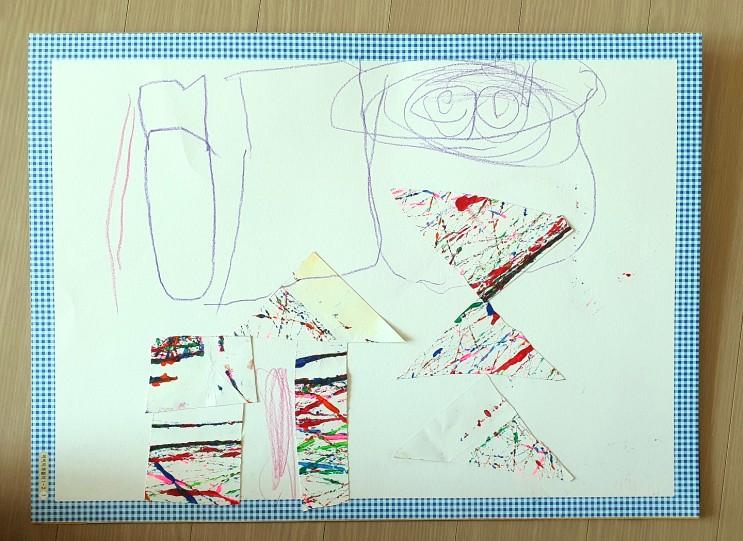 강동구 방문미술 아이지미술,5살딸과 신나는 수업시간