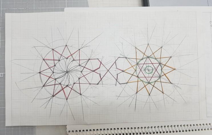 테셀레이션 인도문양-쪽매이음-수학탐구주제