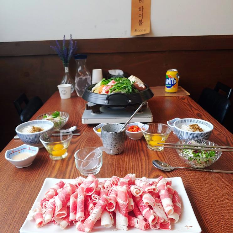 [인천] 모모네이층집, 데이트하기 좋은 부평스키아키 맛집