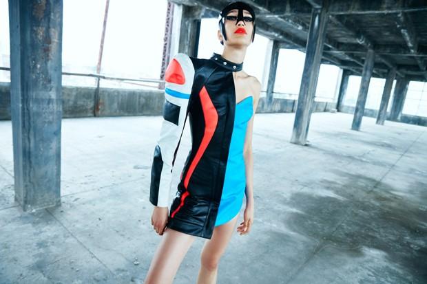 화려한 색상과 펑크스타일의 독특한 브랜드 : Kaimin 2018 봄 여름 컬렉션.