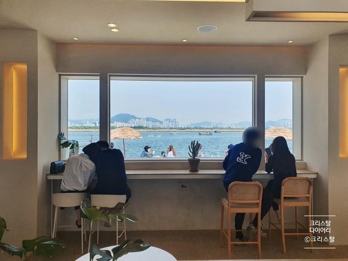 [명지 국제신도시 카페] 리버뷰 감성 카페, 진목카페