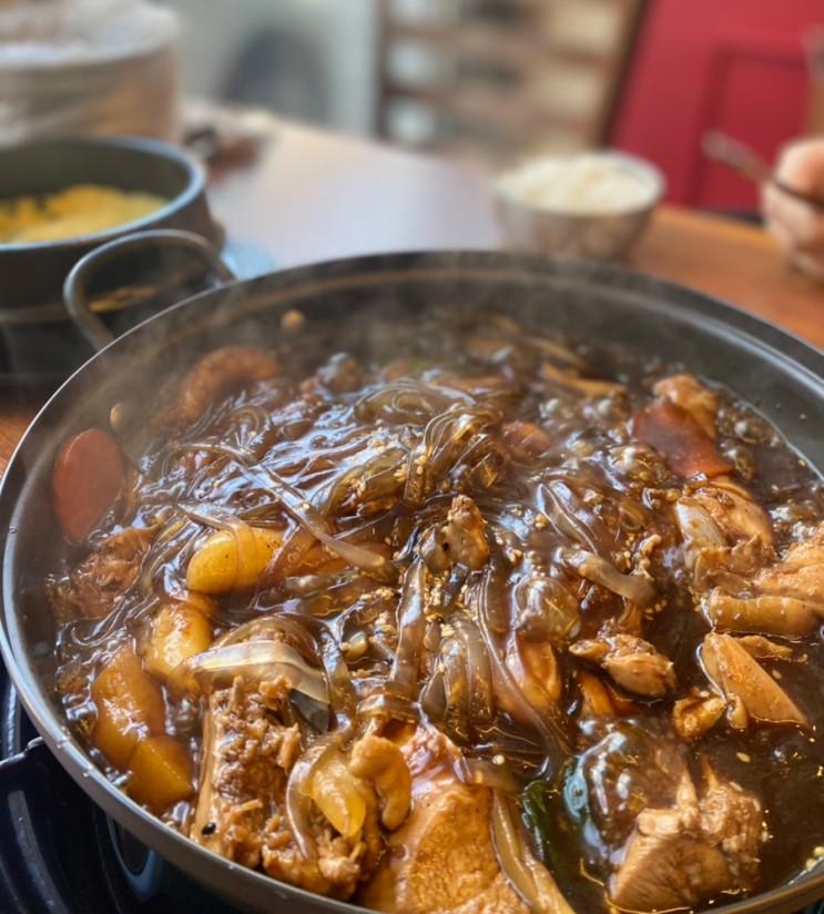 동탄 닭발 맛집 찜닭도 맛있는 밥술집 불타는292