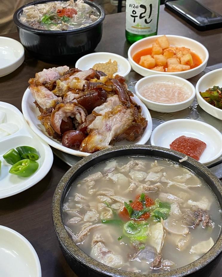 대전 중리동 맛집 : 대전 24시 가성비순대국밥과 족발맛집 오문창순대국밥