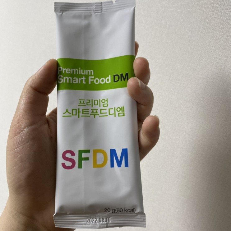 건강지심, 다이어트식품인 식사대용 선식! 멀티비타민도 함유된 스마트푸드디엠