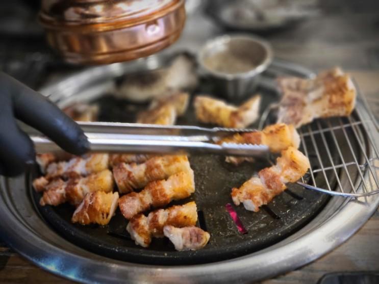 구월동수협사거리맛집 육리지 참숯 삼겹살