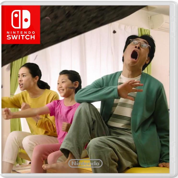 닌텐도 스위치 운동 게임 달리고 점프하는 패밀리 트레이너