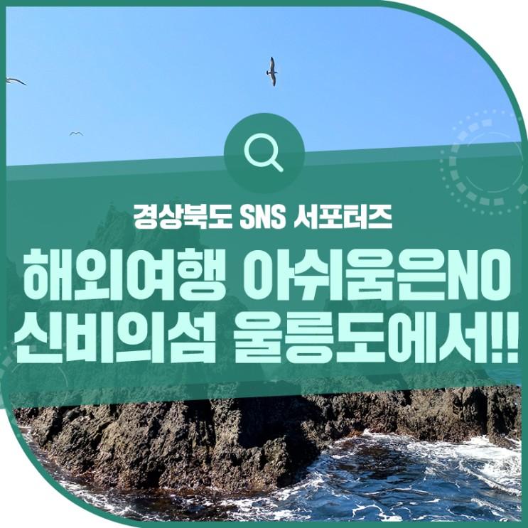 해외여행의 아쉬움을 날려버리자~! 신비의섬 울릉도에서~!!