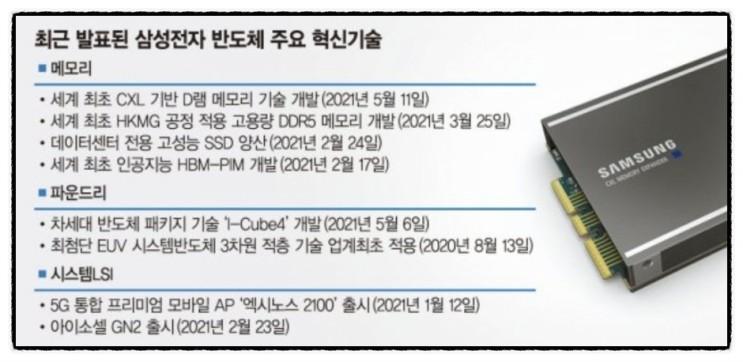 삼성, TB급 차세대 D램 첫 개발..인텔,AMD등 러브콜