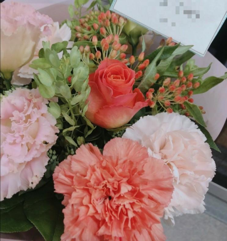 소호앤노호 두번째 방문 풍성한 꽃다발