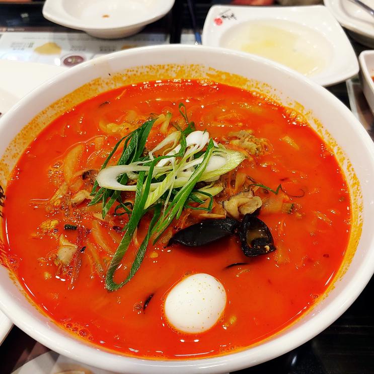 [인천] 이비가짬뽕, 깔끔한 맛이 매력인 인천대공원 맛집