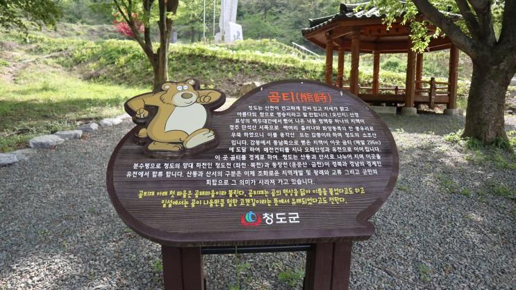 곰티 한국전쟁 민간인 희생자 위령비