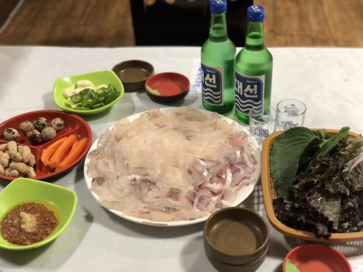 양산 물금 맛집 / 수궁횟집♥ 소주, 음료 무한ㅋㅋㅋㅋㅋ