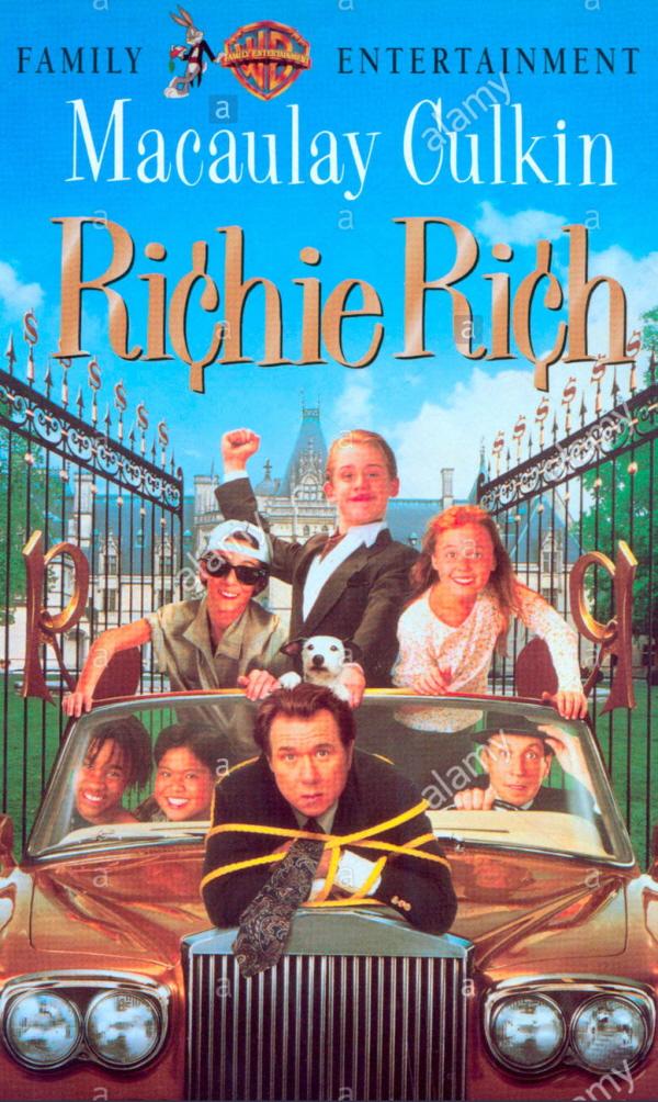 가족영화│리치 리치 Richie Rich (도널드 페트리, 1994)