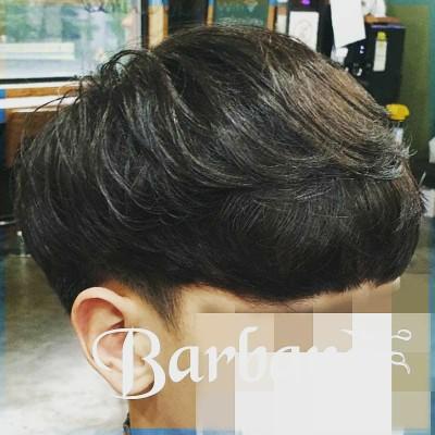 대전 남자 볼륨펌 [바바라헤어] 자연스러운 파마 머리