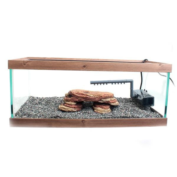 갓성비 좋은 피쉬매니저 거북이 돌다리쉼터 어항 세트, 엔틱 좋아요