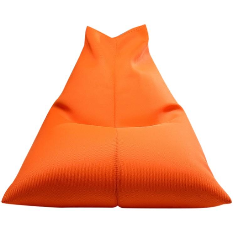 요즘 인기있는 보니타 대형 빈백 파우치 에어메쉬 의자 P202, 오렌지 ···