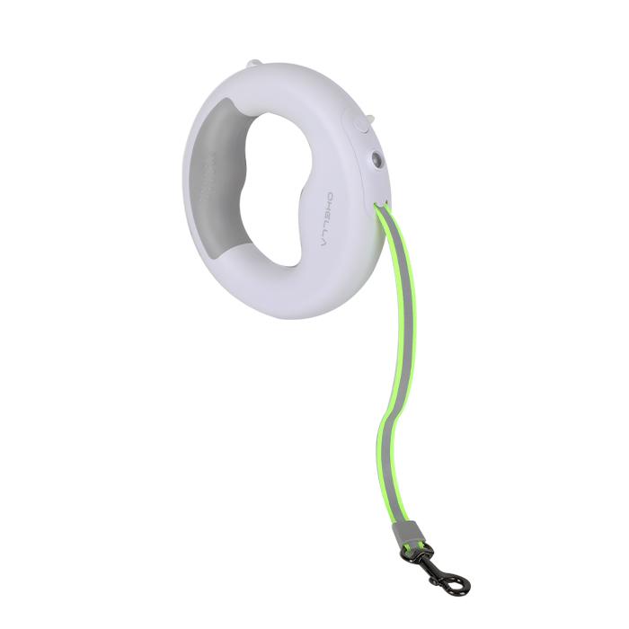 가성비 뛰어난 앱코 OHELLA CL01 애견 강아지 LED 리드줄, 화이트 ···