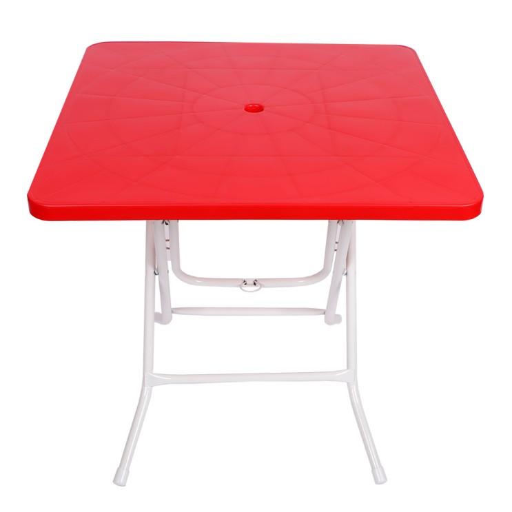 선호도 좋은 지오리빙 접이식 플라스틱 테이블, 레드(사각) ···