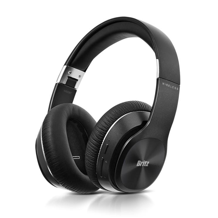 후기가 정말 좋은 브리츠 W820BT 블루투스 유무선 헤드폰 헤드셋 접이식, W820BT 블랙 추천해요