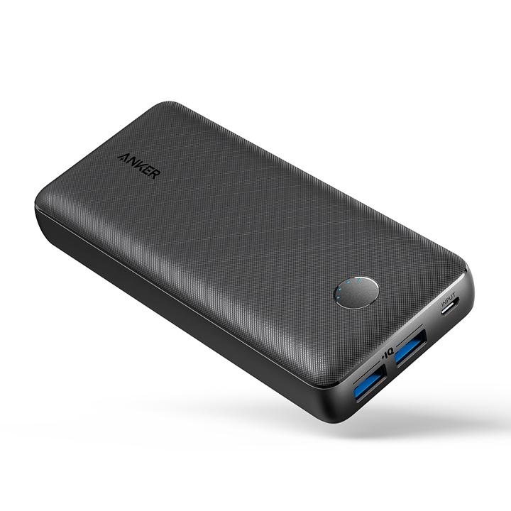 인기 많은 앤커 파워코어 셀렉트 20000mAh 휴대용 보조배터리, A1363H11, 블랙 좋아요
