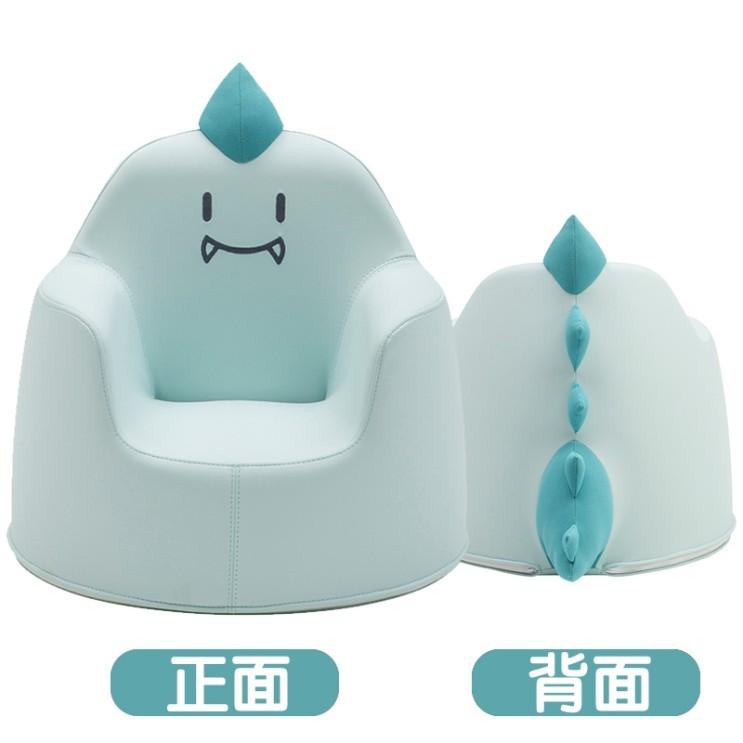 선호도 높은 1인용 모듈 좌식 소파 쇼파 iloom 어린이 한국 수입 만화 아기 작은 의자 아기, 블루 공룡 소파 추천합니다