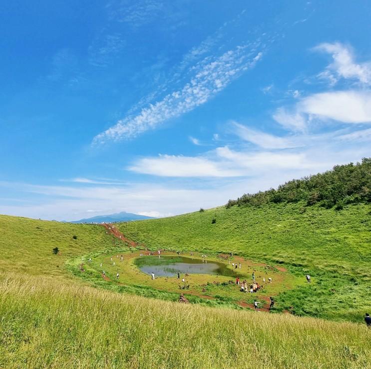 제주여행-5일차 서쪽 금오름, 가마솥 수제 만두 전골_애월 장인의 집