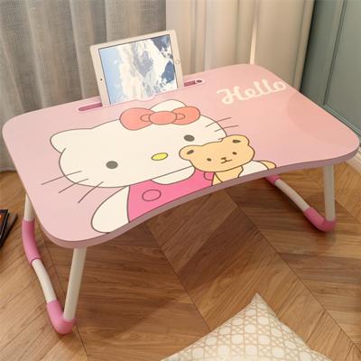 후기가 좋은 어린이 귀여운 헬로키티 테이블 숙소 앉은뱅이 작은책상 접이식 낮은 공부책상, 헬로키티곰돌이카드슬롯 추천합니다
