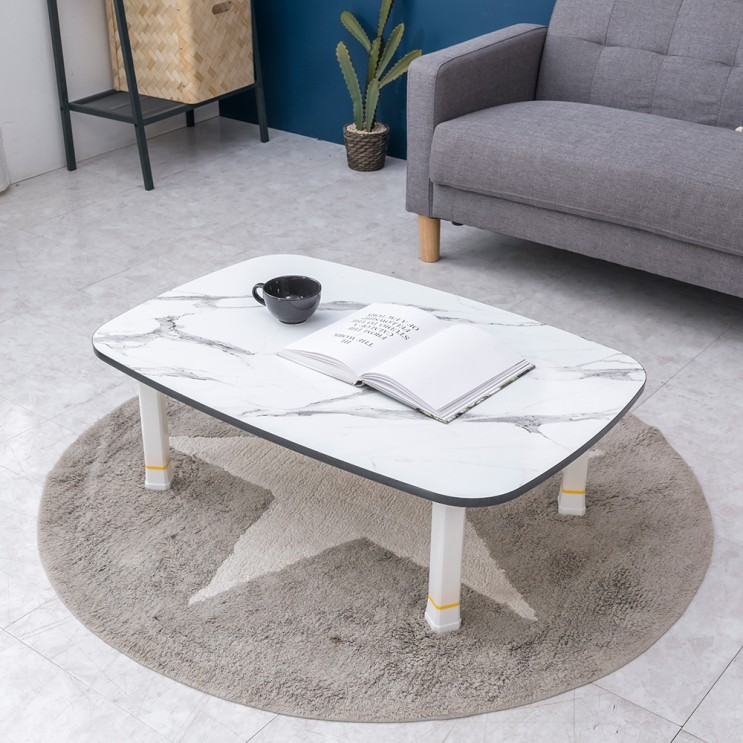당신만 모르는 트리팜 LPM 5단 높이조절형 하모니 테이블 특대형900, 마블화이트 ···