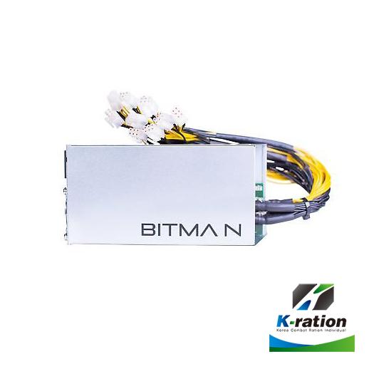 많이 찾는 케이레이션 Antminer Bitmain apw3++ 1600w 비트메인 정품파워, 1개 ···