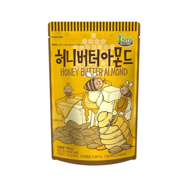 후기가 좋은 바프 허니버터아몬드130g, 1팩 ···
