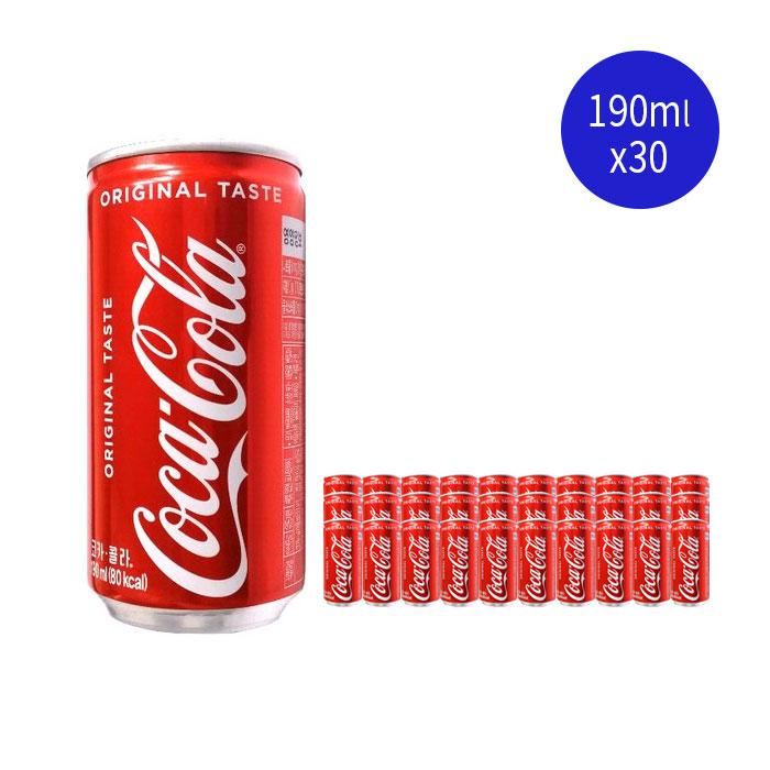 후기가 정말 좋은 코카콜라 190mlx30캔, 30캔, 190ml 추천합니다