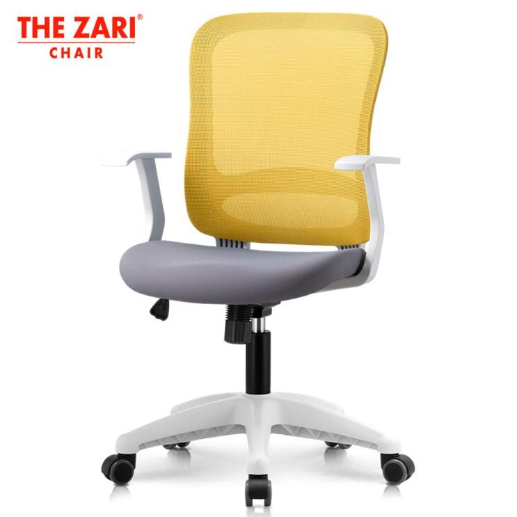 가성비갑 더자리체어 국산 베스트모델 스테이 의자 2.0 (화이트바디-패브릭) 3년 무상AS 책상의자, 화이트바디(2.0) 머스타드(메쉬)-그레이(패브릭) 좋아요