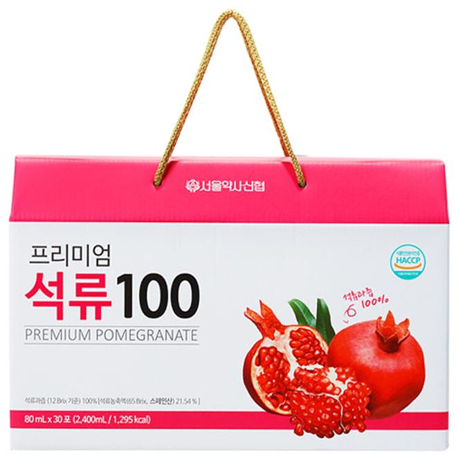 의외로 인기있는 서울약사신협 프리미엄 석류즙 100, 80ml, 30개입 추천합니다