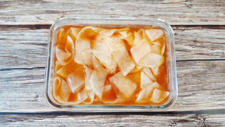 알토란 임성근 무절임 만드는법 냉면 무절임