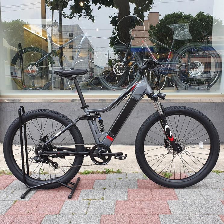 2021년 알톤 니모 27.5 FS 8단 파스 스로틀 전기 EMTB 산악 시마노 입문용 가성비 출퇴근 자전거 추천