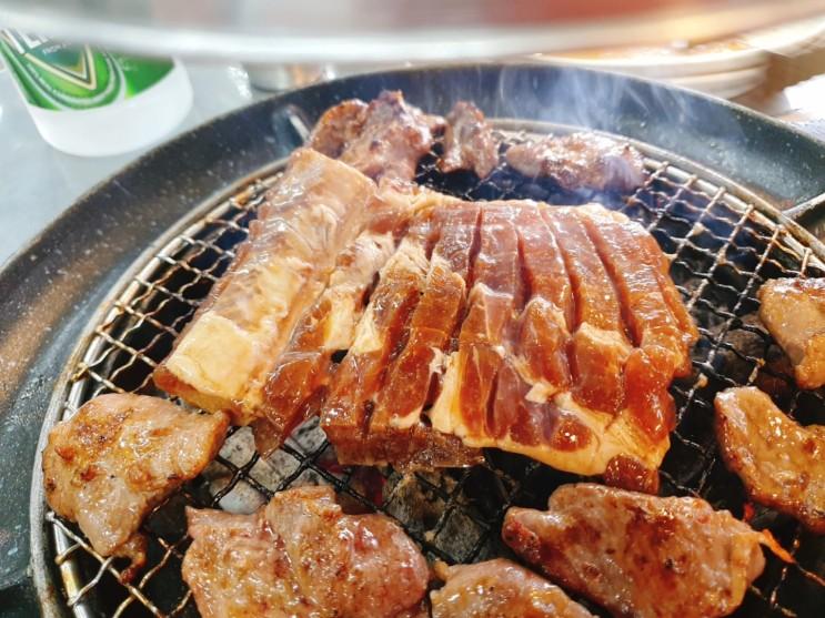 가성비 양주 고기집, 돈장군... 갈매기살 맛있대서 갔는데 돼지갈비 맛집임